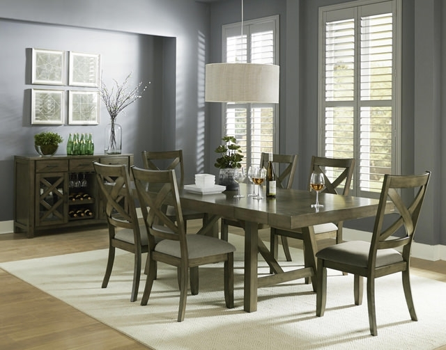 Chapleau Ii 7 Piece Extension Dining Tables With Side Chairs Pertaining To Well Liked Dining Sets – Kitchen & Dining Room Sets – Hom Furniture (View 16 of 20)