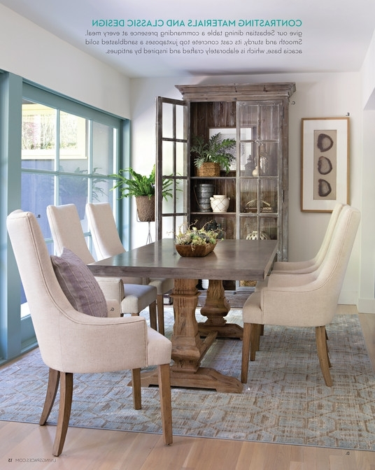 Chapleau Ii Extension Dining Tables With Regard To Well Known Living Spaces Dining Table – Loris Decoration (View 4 of 20)