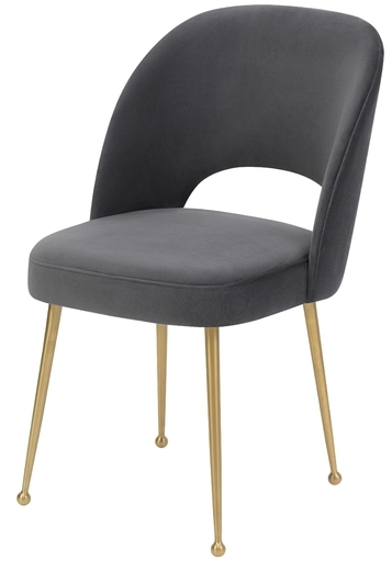 Charcoal Dining Chairs Throughout Latest Betty Dining Chair, Charcoal (View 7 of 20)