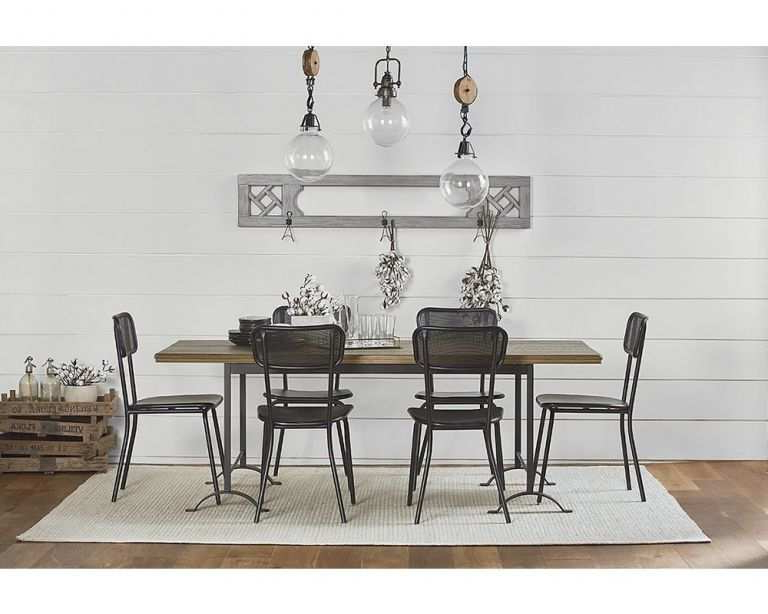 Charming Double Pedestal Dining Table Magnolia Home Of Lovely Dining With Regard To Well Liked Magnolia Home Double Pedestal Dining Tables (View 19 of 20)