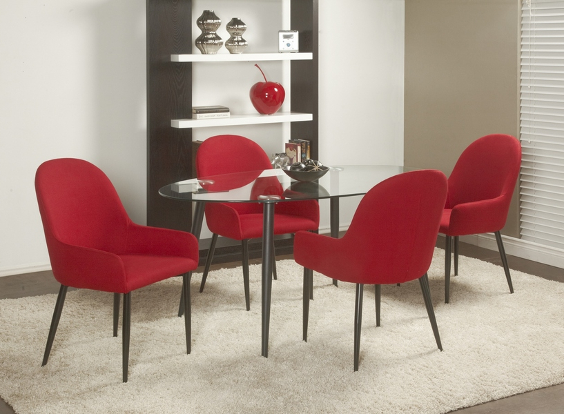 Chateau Imports Is A Wholesale Distributor Of Quality Home Furnishing Regarding Most Recent Red Dining Tables And Chairs (View 9 of 20)