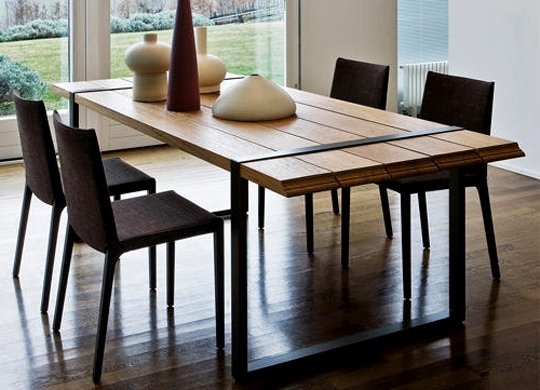 Cheap Contemporary Dining Tables For Recent 3 Key Points To Consider In The Perfect Contemporary Dining Table (View 2 of 20)