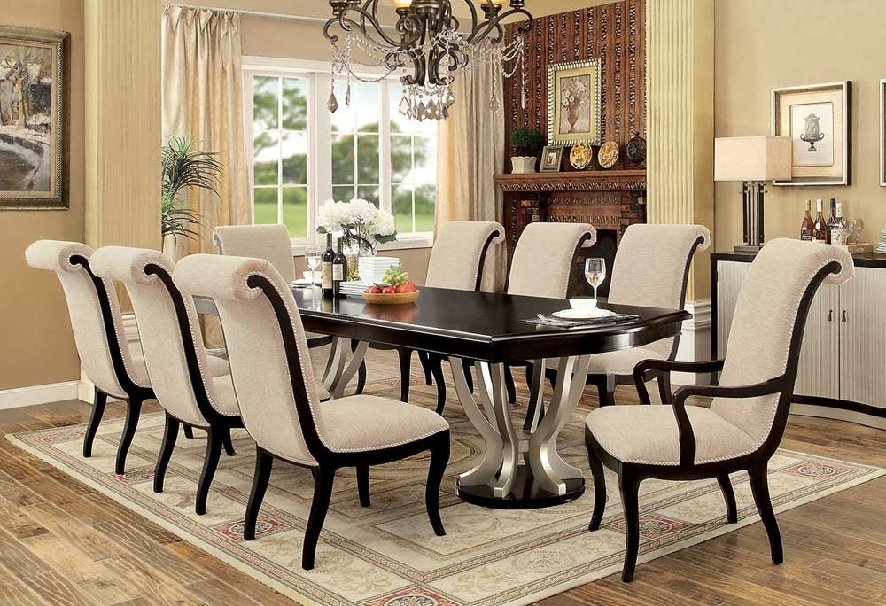 Cheap Dining Room Chairs Regarding Latest Espresso Dining Table And Chairs – Home Decor Photos Gallery • (View 4 of 20)
