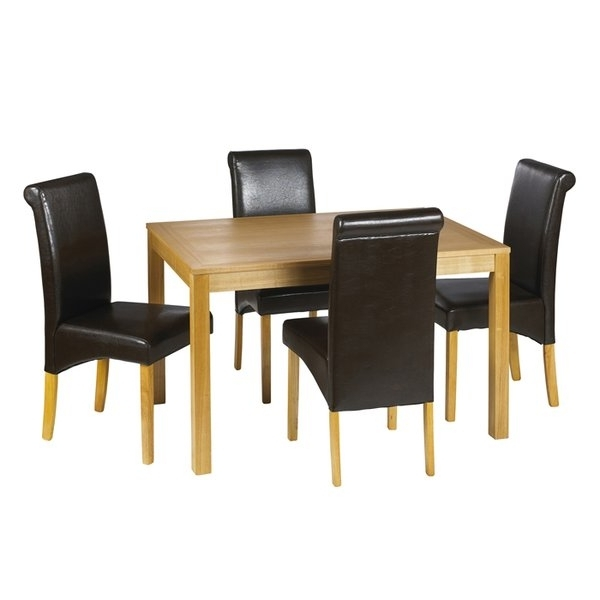 Cheap Dining Tables And Chairs Pertaining To Best And Newest Dining Table Sets, Kitchen Table & Chairs (View 3 of 20)