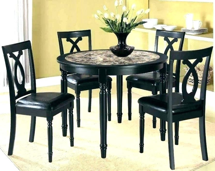Cheap Dining Tables And Chairs Pertaining To Favorite Compact Dining Table Sets Small Room Chairs Kitchen For And Kitchens (View 3 of 20)