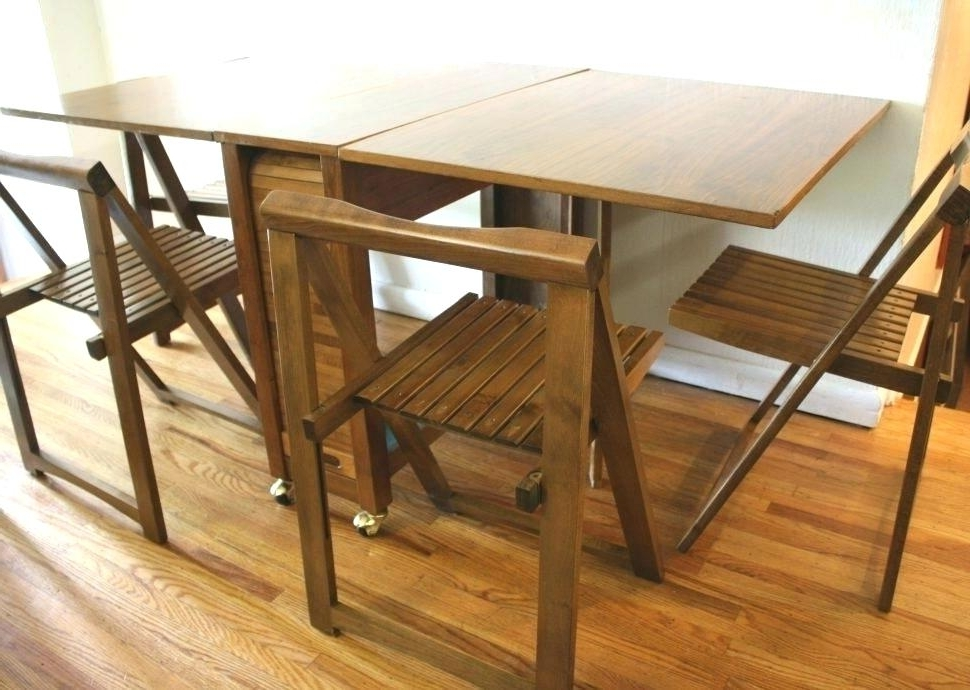 Cheap Folding Dining Tables Pertaining To Widely Used Wall Mounted Fold Out Dining Table Coffee Tables Folding Dining (View 6 of 20)