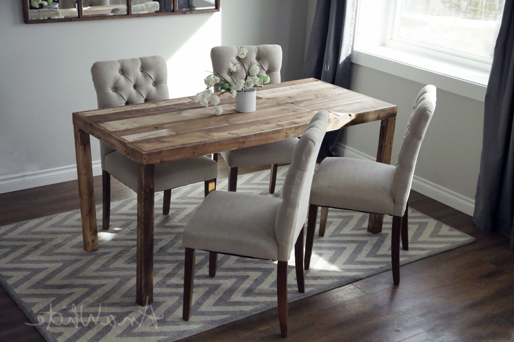 Cheap Reclaimed Wood Dining Tables Inside Widely Used Ana White (View 3 of 20)