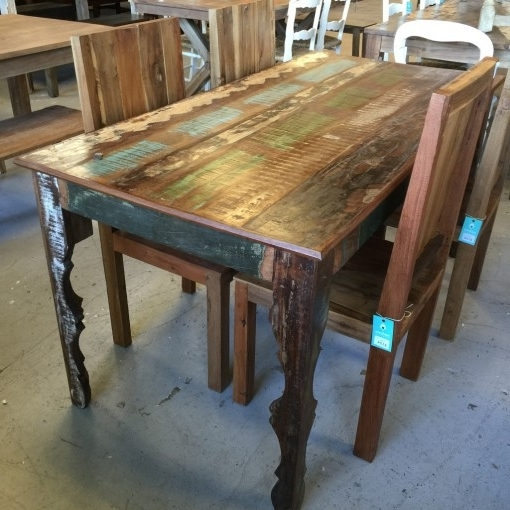 Cheap Reclaimed Wood Dining Tables Throughout Well Known Reclaimed Wood Dining Table – Nadeau Nashville (View 5 of 20)