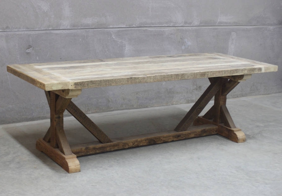 Cheap Reclaimed Wood Dining Tables With Regard To Well Liked Grand Duke Reclaimed Wood Dining Tablerust Collections (View 3 of 20)