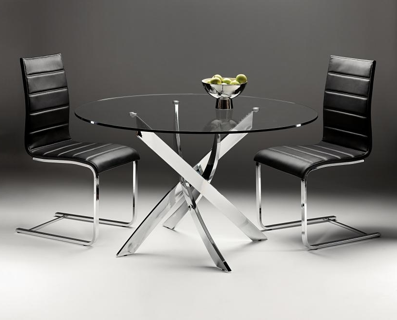 Cheap Round Dining Tables Pertaining To Favorite Master Glass Round Dining Table (View 4 of 20)