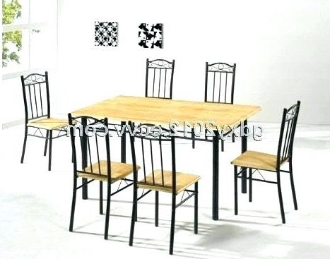 Cheap White Dining Table And Chairs Round Set For 4 Chair Kitchen Inside Widely Used Cheap Dining Sets (View 6 of 20)