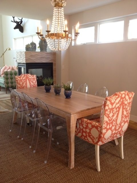 Check Out A Recently Completed Mk Custom Dining Room Project  Custom In 2018 Market Host Chairs (View 4 of 20)