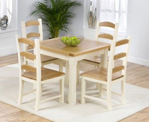 Chic Small Breakfast Table And Chairs 126 Best Furniture Images On Intended For Popular Small Dining Tables And Chairs (View 7 of 20)