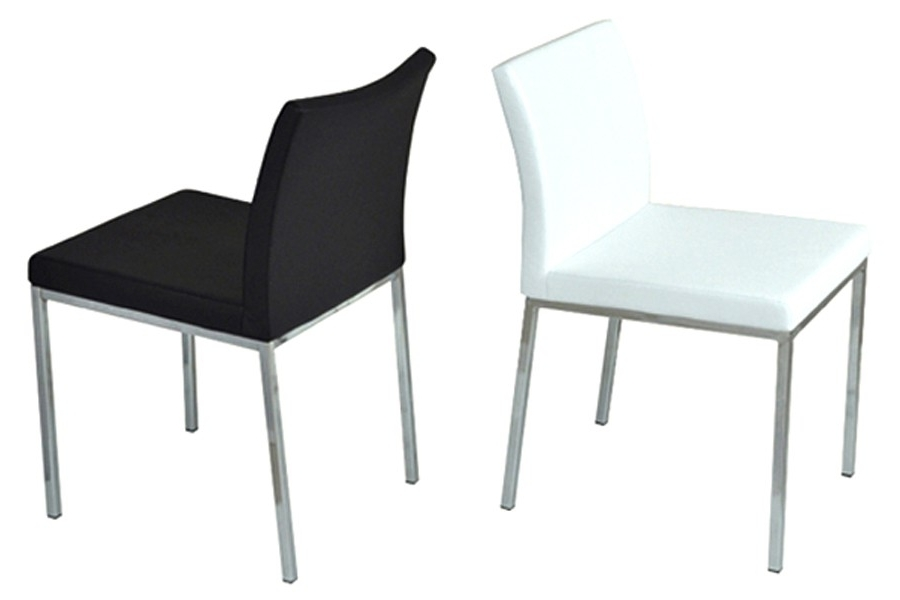 Chrome Dining Chairs Throughout Widely Used Aria Chrome Dining Chair (View 9 of 20)
