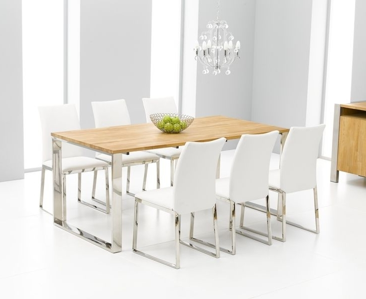 Chrome Dining Room Sets Intended For Most Popular (View 19 of 20)
