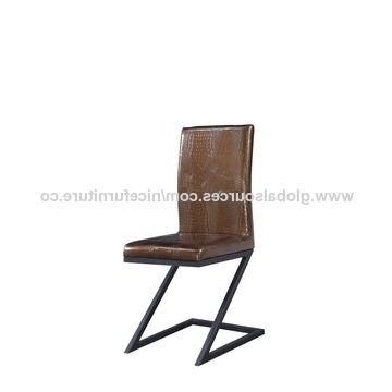 Chrome Leather Dining Chairs Within Well Known China Chrome Dining Chair From Wholesaler: Nice Furniture Co (View 14 of 20)