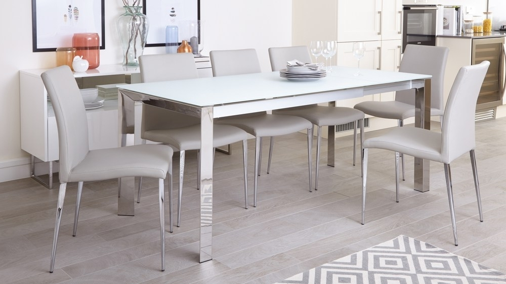 Chrome Legs In Chrome Dining Sets (View 6 of 20)