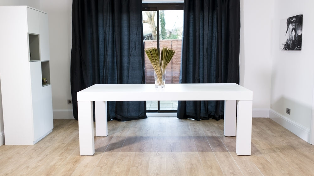 Chunky Table & Padded Chairs (View 10 of 20)