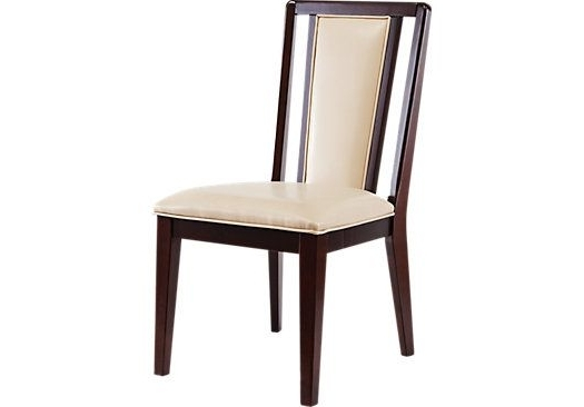 Cindy Crawford Home Highland Park Ebony Side Chair . $129.99. (View 6 of 20)