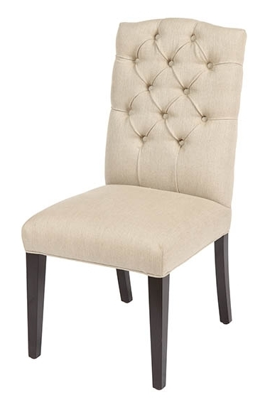 Cintra Side Chairs For 2017 Marcy Linen Chair – Putty, , The Khazana Home Austin Furniture Store (View 6 of 20)