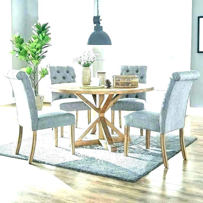 Circle Dining Table Set Circle Dining Table Set Large Round Dining Regarding 2018 Large Circular Dining Tables (View 7 of 20)