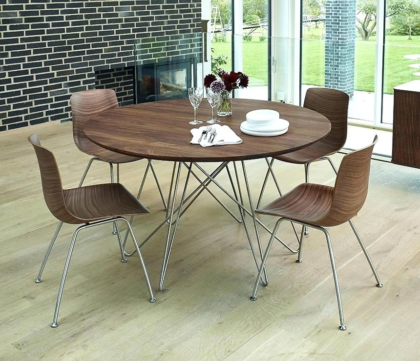 Circle Dining Table Set Half Round Dining Table Circle Kitchen With Preferred Circle Dining Tables (View 3 of 20)