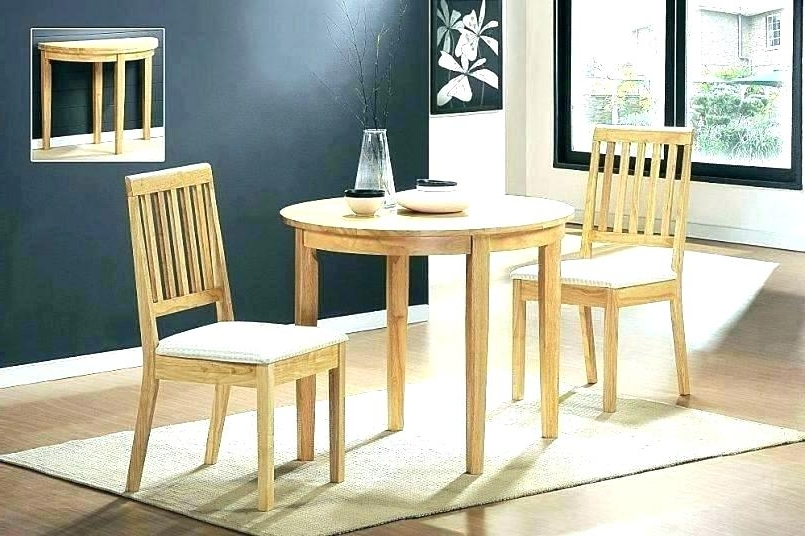 Circular Dining Tables For 4 For Well Liked White Kitchen Table Set Small Dining Table Set For 4 White Circle (View 4 of 20)