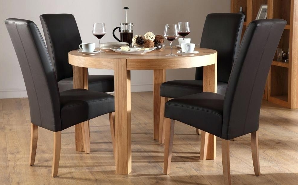 Circular Dining Tables For 4 In Widely Used Cool Circular Dining Tables Furniture Round And Chairs Ikea Circle (View 5 of 20)