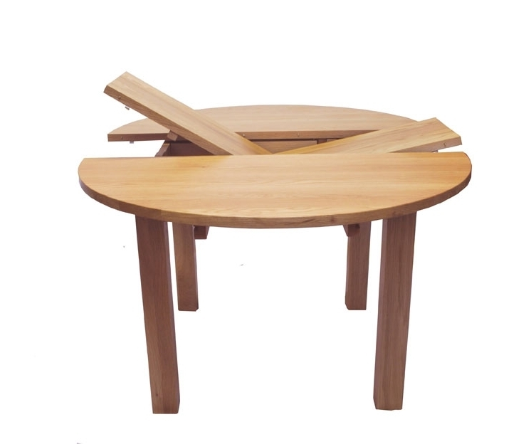 Circular Extending Dining Tables And Chairs Regarding 2018 Endearing Round Extendable Dining Table Extendable Dining Table (View 14 of 20)