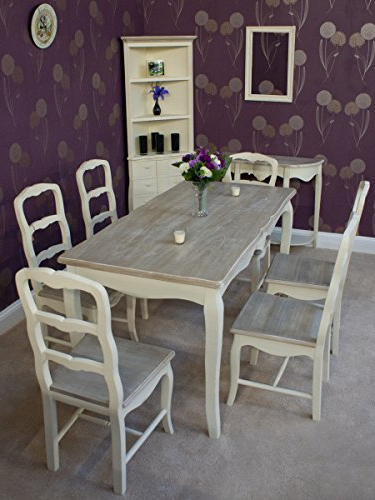 Classic Casamore Devon Rectangular Dining Table And 6 Dining Chairs Intended For Current London Dining Tables (View 13 of 20)