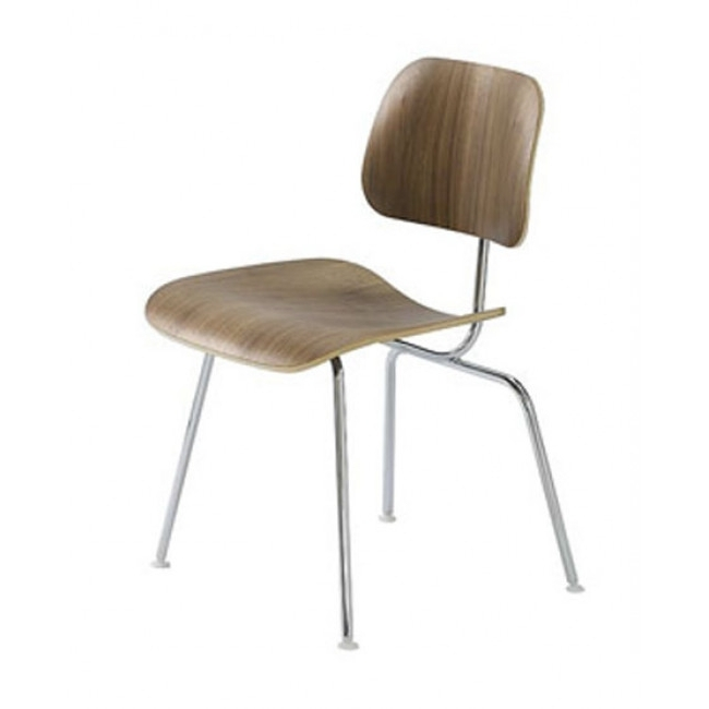 Classic Dining Chair (Metal Legs) With Well Liked Plywood & Metal Brown Dining Chairs (View 4 of 20)