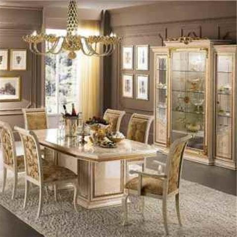 Classic & Modern Italian Dining Inside Well Known Italian Dining Tables (View 7 of 20)