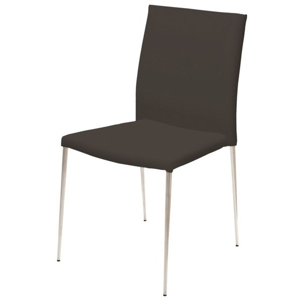 Clay Side Chairs Regarding Best And Newest Shop Clay Alder Home Cotter Eco Leather Dining Chair – Free Shipping (View 5 of 20)