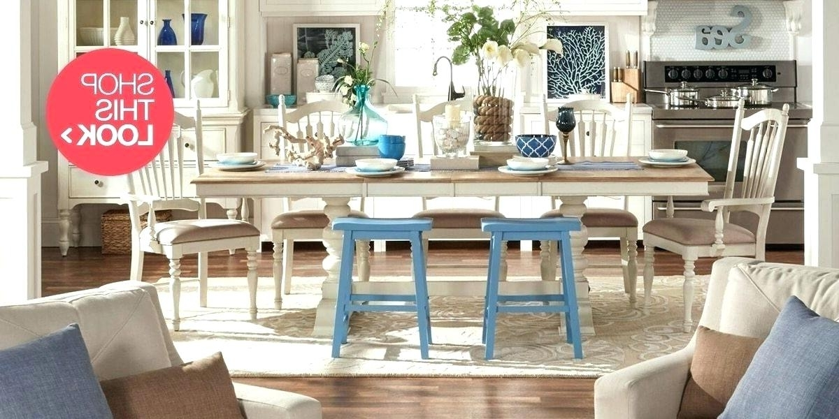 Coastal Dining Room Ideas Coastal Dining Table Extra Coastal Dining Pertaining To Most Recently Released Coastal Dining Tables (View 17 of 20)