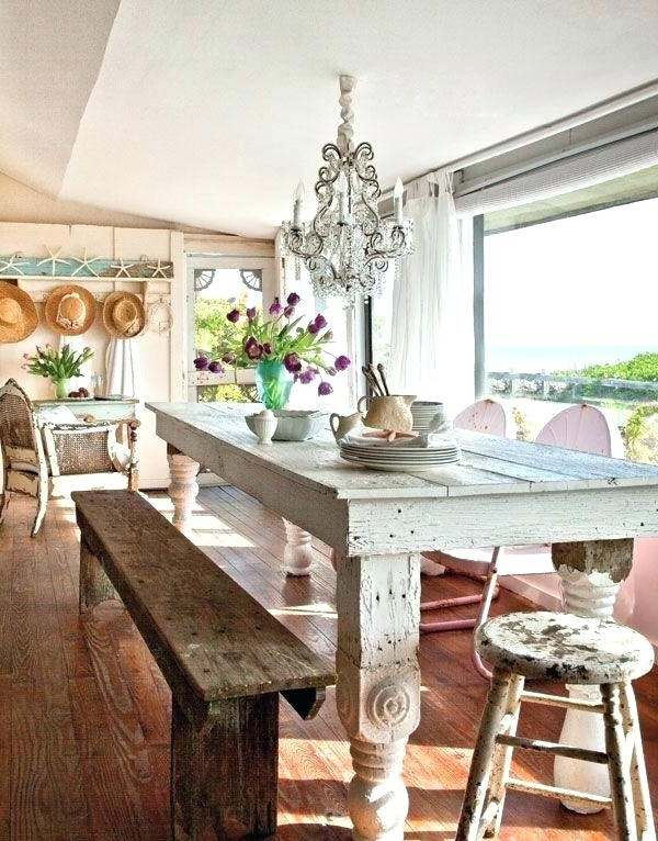 Coastal Dining Room Sets Beach House Dining Table Coastal Dining Pertaining To Most Current Coastal Dining Tables (View 15 of 20)