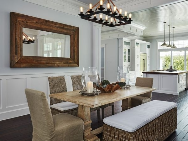 Coastal Dining Tables In Favorite Find A Coastal Dining Table, Kitchen Round Or Bench For Beach House (View 8 of 20)