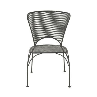 Cole Ii Black Side Chairs Pertaining To Well Liked Cole & Grey Stacking Patio Dining Chair (View 6 of 20)