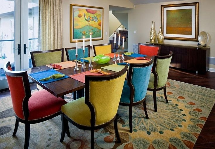 Coloured Dining Room Sets – Best House Interior Today • Throughout Most Popular Colourful Dining Tables And Chairs (Gallery 9 of 20)