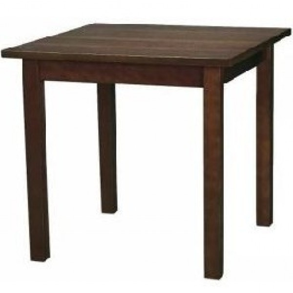 Commercial Wooden Restaurant Dining Tables – Dark Wood Dining Furniture In Famous Solid Dark Wood Dining Tables (View 17 of 20)