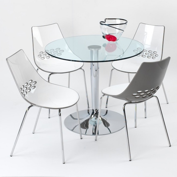 Como Dining Tables Within Widely Used Como Glass Dining Table (View 7 of 20)