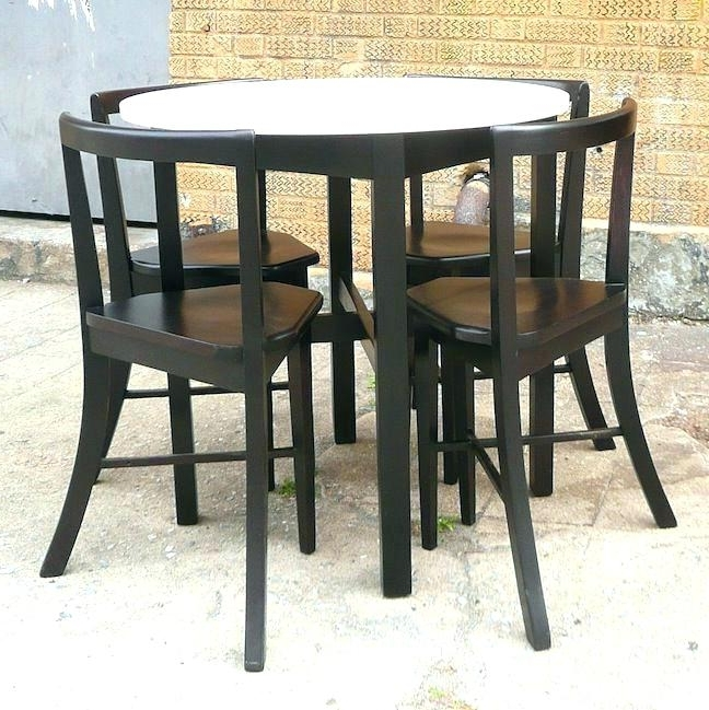 Compact Dining Set Compact Dining Set Compact Dining Set Small Table Intended For Most Up To Date Compact Dining Sets (View 17 of 20)