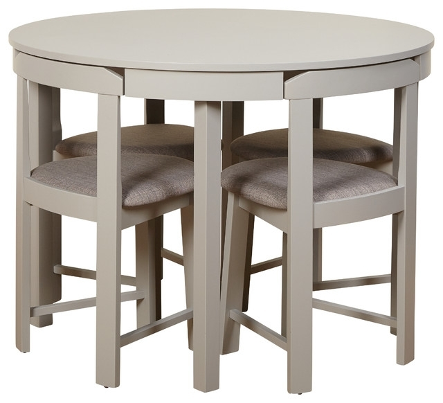 Compact Dining Sets For Newest Kizzy Dining Set – Transitional – Dining Sets  Tms (View 2 of 20)