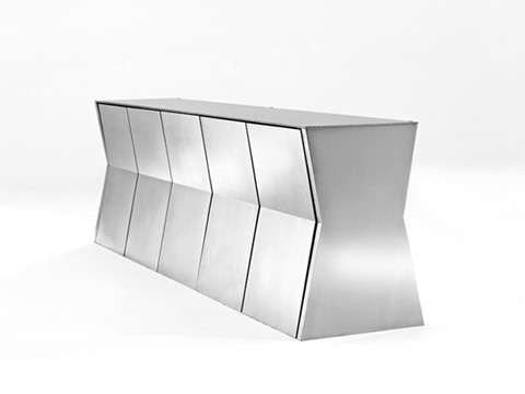 Compact Dining Sets Intended For Well Known Deceptively Compact Dining Sets: Gioia's Monolith Table For Small (View 11 of 20)