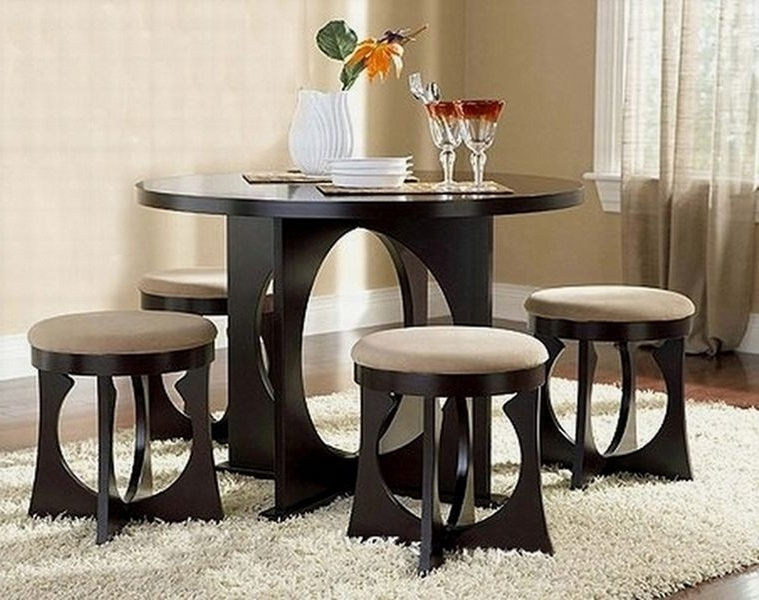 Compact Dining Table Sets – Castrophotos With Well Known Compact Dining Room Sets (Gallery 5 of 20)