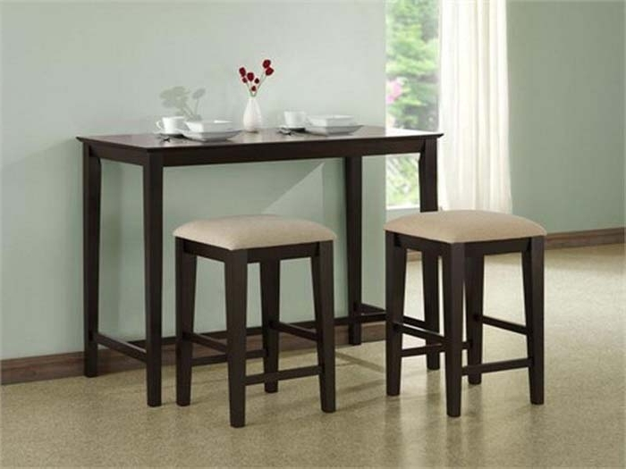 Compact Dining Tables And Chairs Inside Famous Compact Dining Table And Chair Sets – Castrophotos (View 15 of 20)
