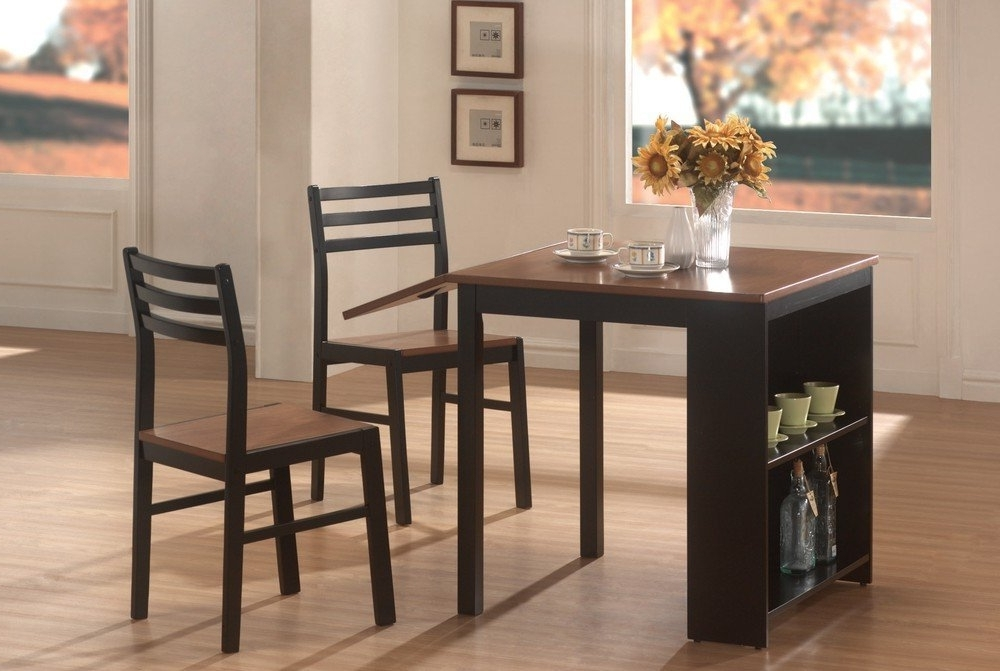 Compact Dining Tables And Chairs With Well Liked Dining Room Very Small Kitchen Table And Chairs Mini Dining Table (View 11 of 20)