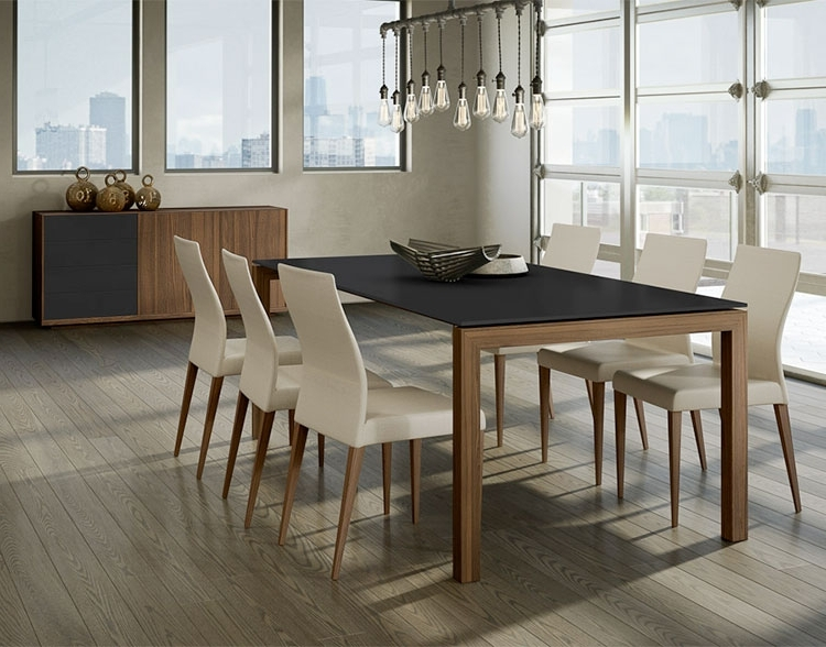Contemporary Dining Furniture Inside Well Known Torelli Vinci Dining Table – Sarasota Modern & Contemporary Furniture (View 6 of 20)