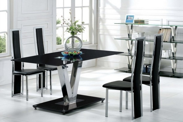 Contemporary Dining Room Chairs Regarding Most Recently Released Modern Dining Room Chairs Luxury Modern Dining Chairs Cheap Home (View 8 of 20)