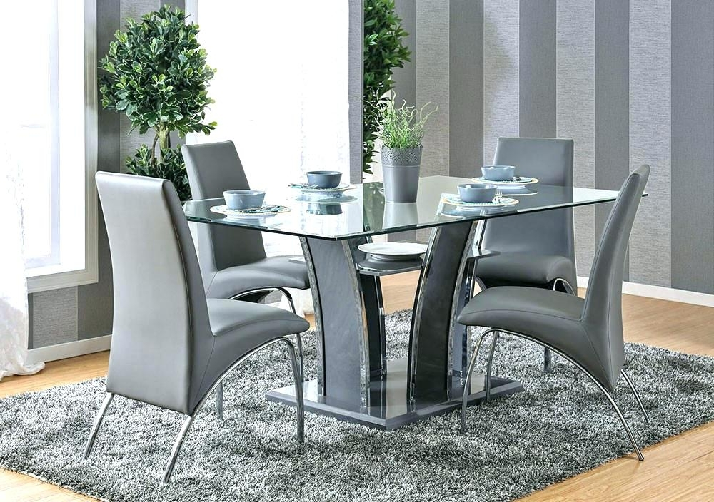 Contemporary Dining Room Chairs Sets — Bluehawkboosters Home Design Inside Famous Contemporary Dining Room Chairs (View 9 of 20)