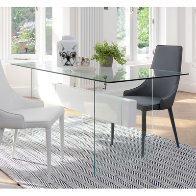 Contemporary Dining Room Furniture From Dwell Pertaining To Glass Dining Tables (Gallery 5 of 20)
